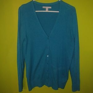 Old Navy cardigan sweater blue with buttons XXL